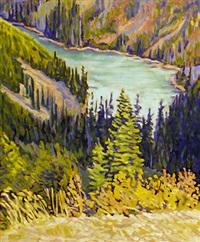 alpine lake by shelley mcmillan