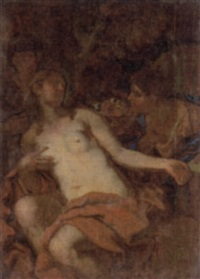 bathsheba receiving the letter by federico cervelli