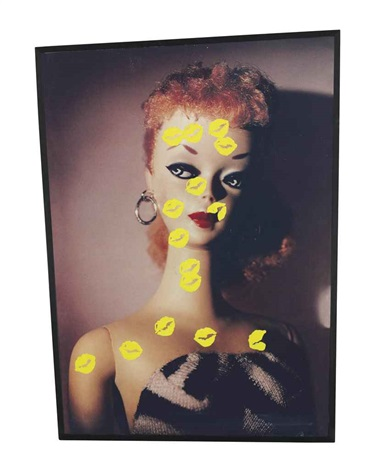 kiss kiss yellow by john baldessari