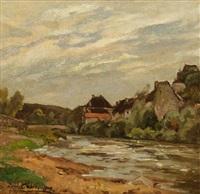 maison en bord de rivière by louis alexandre cabié