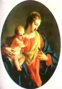 the madonna and child by stefano maria legnani