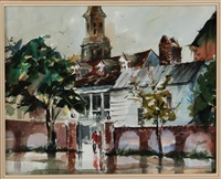 november rain, charleston by virginia fouche bolton