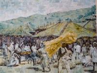 village d'ethiopie by jean marc labeyrie