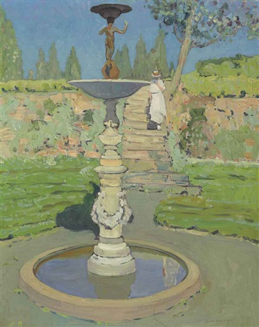 vedder fountain, sunlight by jane peterson