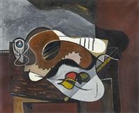 stillleben mit mandoline by hans erni