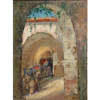 procession by david anthony tauszky