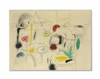 child's companions by arshile gorky