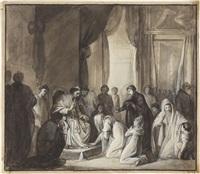 udienza di gregorio xvi a maria cristina di borbone by luigi fioroni