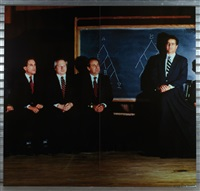 the assembly of deans (quadriptych) by clegg & guttman