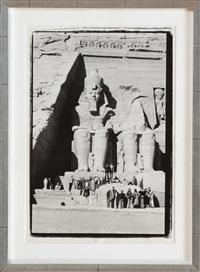 abu simbel, nubia, egypt by richard avedon