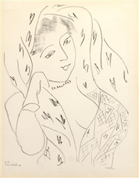 l 14 (from matisse dessins: themes et variations) by henri matisse