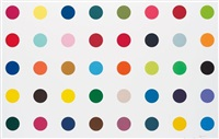 methyl phenysulfoxide, from woodcut spots by damien hirst