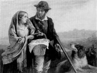 le départ du chasseur by f. w. wagner