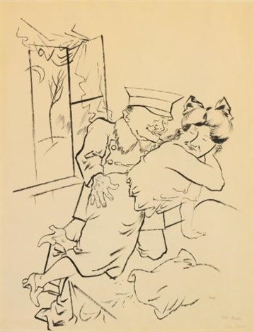 hohere tochter by george grosz