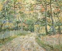 the path to town by ernest lawson