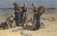 the catch by bernardus johannes blommers