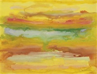 untitled (rainbow abstraction) by beauford delaney