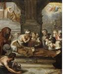 the death of a franciscan monk by simon de vos