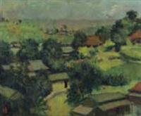 landscape by kunitaro suda