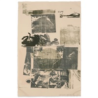 epic from: romances (gemini 764) by robert rauschenberg