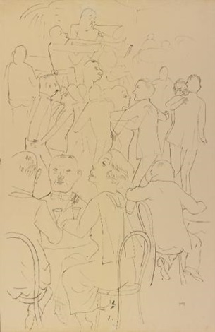 tanzcafé by george grosz