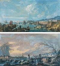 paysages de bord de mer by alexandre jean noel