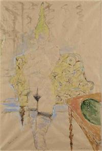 femme à la nette by paul de lussanet