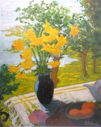 on the terrace table by cecilia cutescu storck