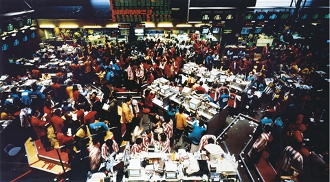 singapore börse i by andreas gursky