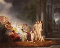 venus admonishing cupid by marguerite gérard