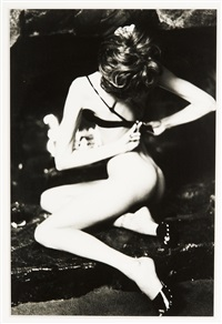 stephanie seymour, santa barbara by ellen von unwerth