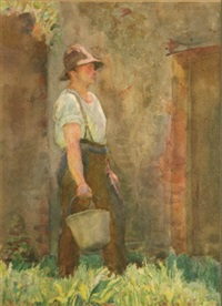 the workers (set of 6) by romeo charles toogood