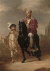 the triumph of mordechai by willem bartsius