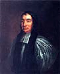 portrait of john stearne, bishop of clogher, wearing clerical robes by thomas carlton