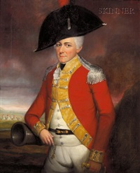 portrait of admiral benson by lemuel francis abbott