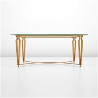 cocktail table by rené drouet