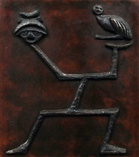 panel (from a triptych) by max ernst