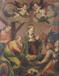 the nativity by francisco pacheco