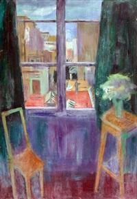 interior con ventana by héctor basaldúa