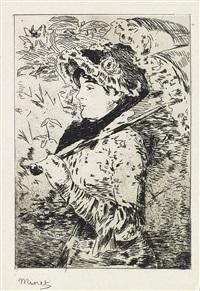 jeanne (le printemps) by édouard manet