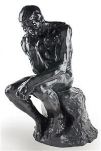 le penseur (the thinker) 沉思者 by auguste rodin