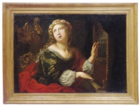 saint cecilia by alessandro tiarini