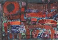 kompozycja abstrakcyjna iii by witold stefan zaczeniuk