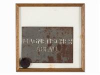 magnetische postkarte by joseph beuys