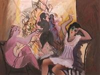 figurative abstract by mustafa ayaz