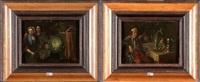 intérieurs animés aux légumes (pair) by jan baptist lambrechts