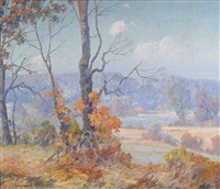 connecticut river by maurice braun