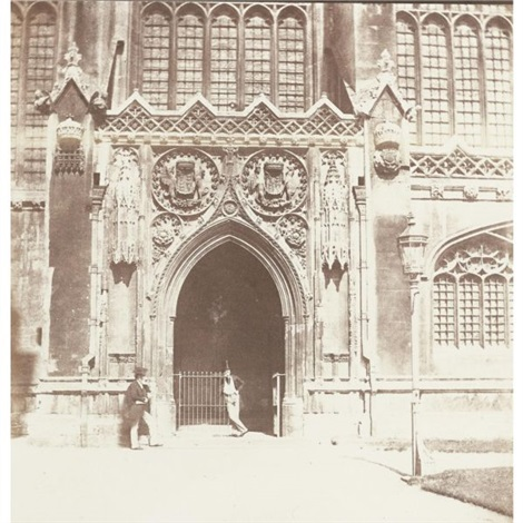 kings college chapel cambridge by william henry fox talbot