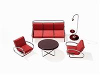sample furniture by jindrich halabala