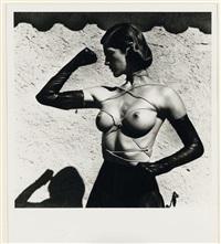 tied up torso ramatuelle by helmut newton